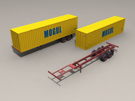 POITRA 3D Model railroad equipment