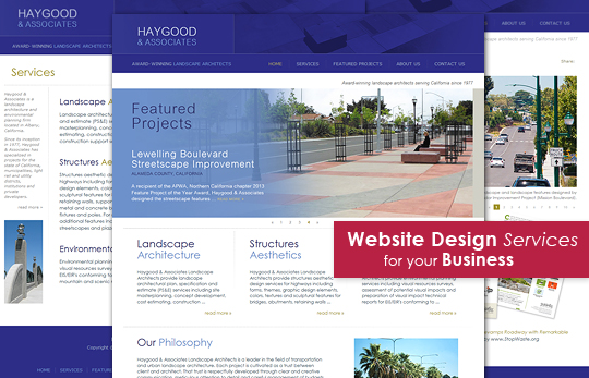 Website Design and Maintenance Services for your Business - Small or Large!