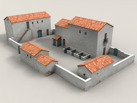 POITRA Visual 3d Model Catalogue - 3D Model 14th Century Southern